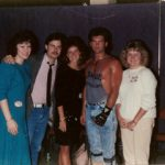 Pre-fame Billy Ray Cyrus with Burke Allen and friends