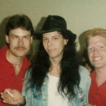 Poison's Bobby Dall with Burke Allen