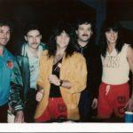Bon Jovi and Burke Allen - 1986