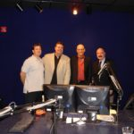 The legendary G Gordon Liddy, Liddy Show producer Greg Edger, Burke Allen and AMS client and best-selling author/screenwriter Andrew Klavan