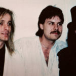 Burke Allen before introducing Cheap Trick - 1989