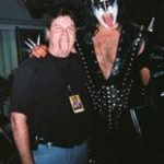 Gene Simmons of KISS and Burke Allen