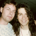 Slaughter lead singer Mark Slaughter and Burke Allen