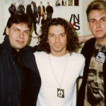 The late Michael Hutchence from INXS and Burke Allen - 1993