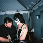 KISS drummer Peter Criss and Burke Allen