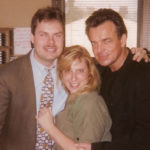 Actor Ray Wise from Twin Peaks and Burke Allen