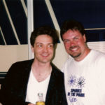 Richard Marx and Burke Allen in the 90's