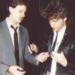 Richard Marx and Burke Allen in the 80's