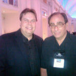 Goosebumps author R.L. Stine and Burke Allen - 2010