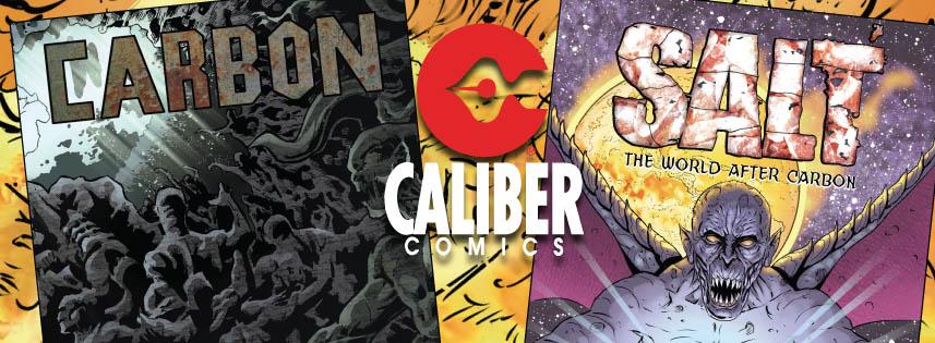 SALT and CARBON - Caliber Comics