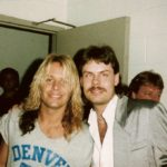 Vince Neil from Motley Crue and Burke Allen
