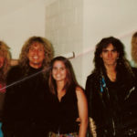 Whitesnake and Burke Allen - 1990